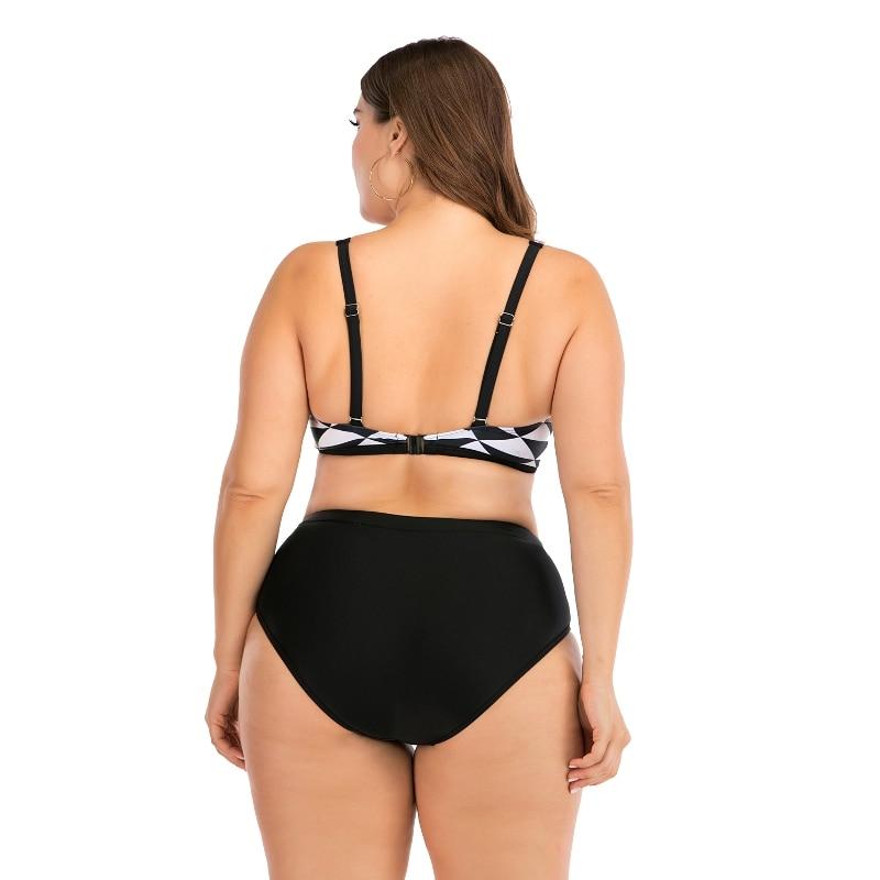 2020 Push Up Women Bikini Set Sexy Swimsuit Print Plus Size Swimwear Summer Bathing Suit Beachwear Bikinis Maillot Biquini XXL