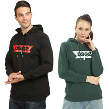 Dsq2 брендовая модная толстовка с буквенным принтом для мужчин