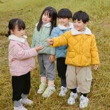 Новинка 2020 зимние детские теплые хлопковые куртки одежда для
