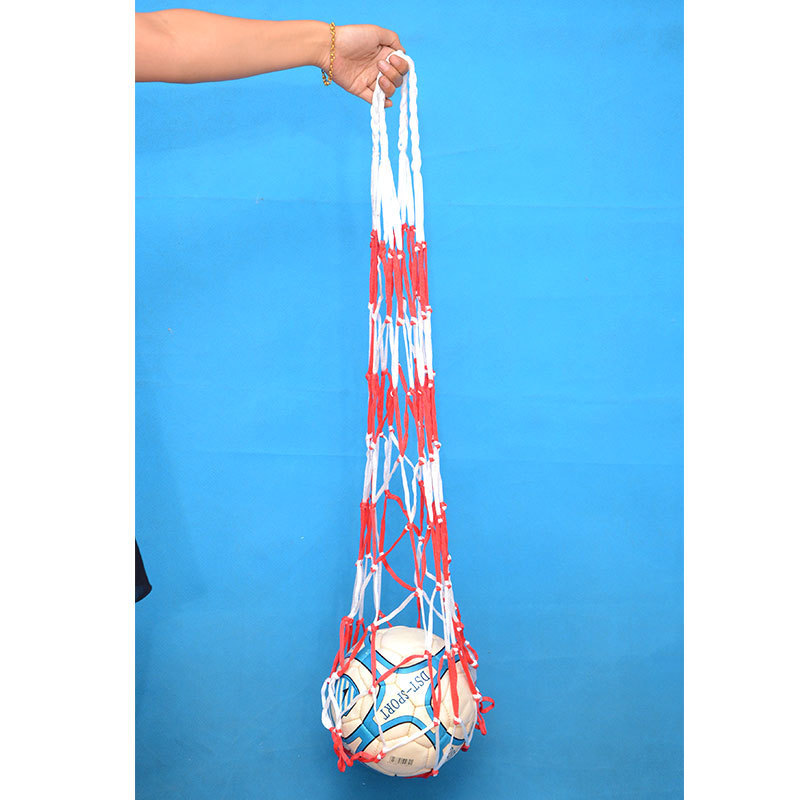 Large Ball Pocket-Basketball String Bag Large Capacity Ball Bag Rough Basketball String Bag Football Volleyball Net Pocket Sport