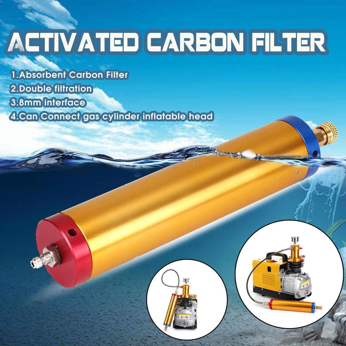 300BAR مضخة عالية الضغط فلتر ل PCP نافخة مضخة ضاغط هواء كهربائية الغوص المياه النفط فاصل فلتر الهواء