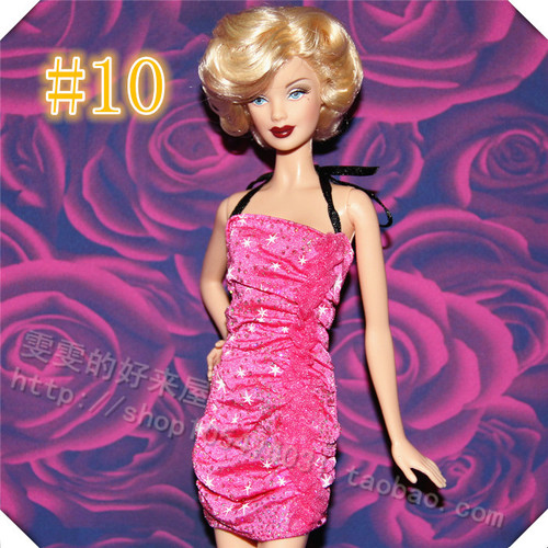 30cm Doll Dress Fashion Clothes handmade outfit For Barbie Doll Accessories Baby Toys Best Girl' Gift 8