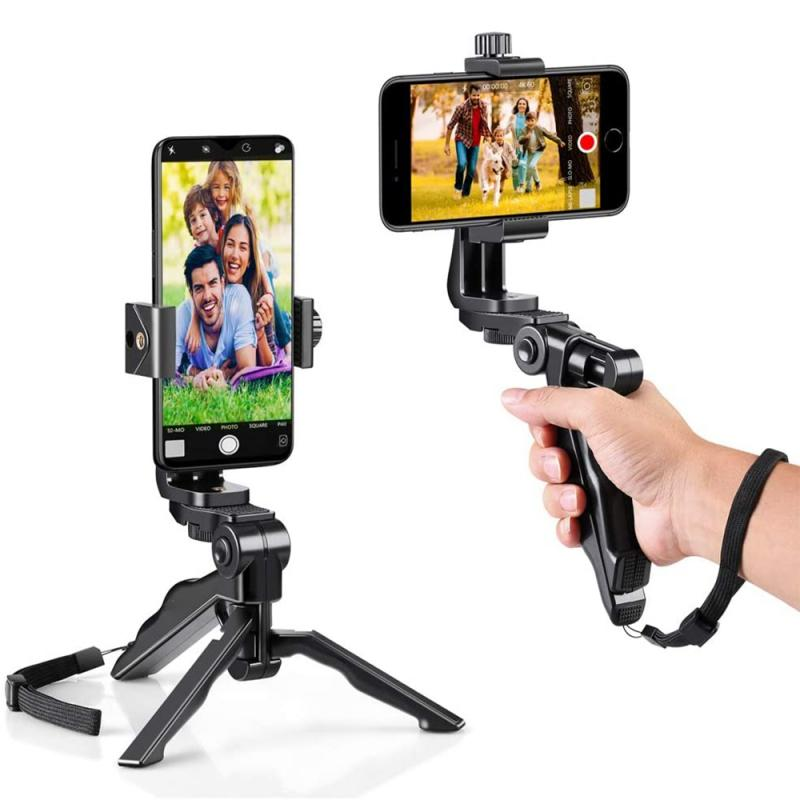 Portable  Flexible Tripod Phone Holder For IPhone 11 Pro Max Samsung Xiaomi   Mobile Phone Stand Smartphone Tripod For Camera
