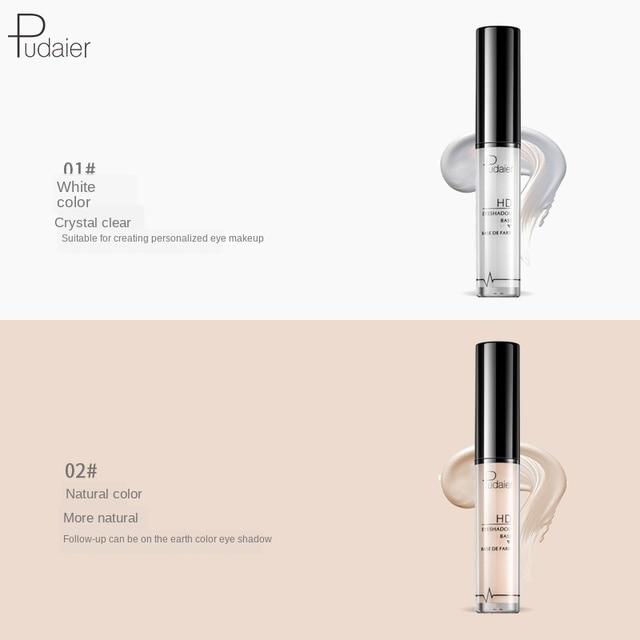 Pudaier Eye Primer Eyeshasow Primer Cream Long Lasting Eye base Eyelid Primer Liquid Base Cosmetics Makeup Moisturzing 4