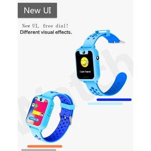 Image 5 - S6 Kinder Smart Uhr Kinder SOS Anruf Location Finder Locator Tracker Kamera Spiel HD 1,44 Zoll Bildschirm Smartwatch
