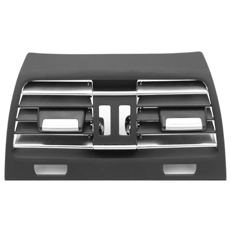 Автомобильная задняя центральная консоль, вентиляционная панель, выходная решетка, крышка свежего кондиционера, вентиляционная решетка, крышка для BMW F01 F02 750I 750Li 2009-2015