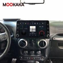 Radio di navigazione GPS per Auto Android 11.8 64G da 9.0 pollici per Jeep Wrangler Rubicon 2010   2017 unità principale Stereo automatica del lettore multimediale