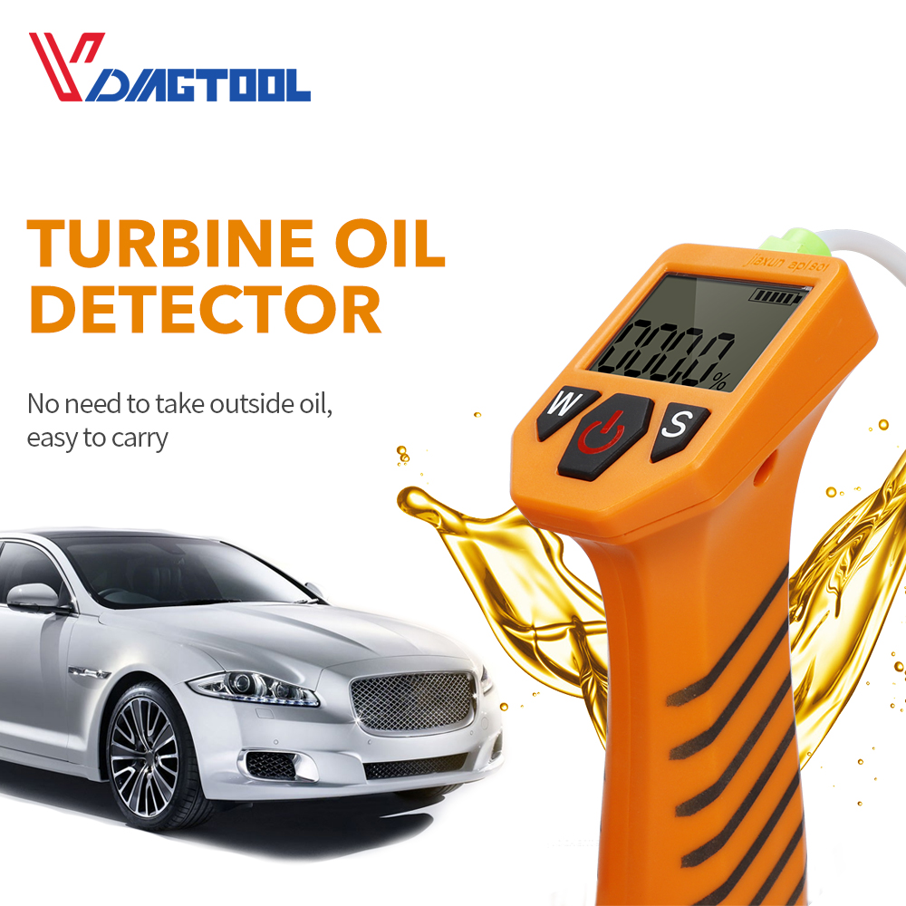 Engine Oil Tester For Auto Check Oil Quality Detector With LED Display Gas Analyzer Car Testing Tools