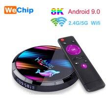 Wechip H96 MAX X3 Android 9.0 TV Box Amlogic S905X3 Quad cor