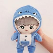 [MYKPOP] KPOP куклы Одежда и аксессуары: Акула с капюшоном пижамы(без куклы) EXO/Bangtan вентиляторы SA19112004