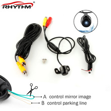 CCD HD night vsion car bakup reverse camera rear monitor parking aid Universal front view waterproof
