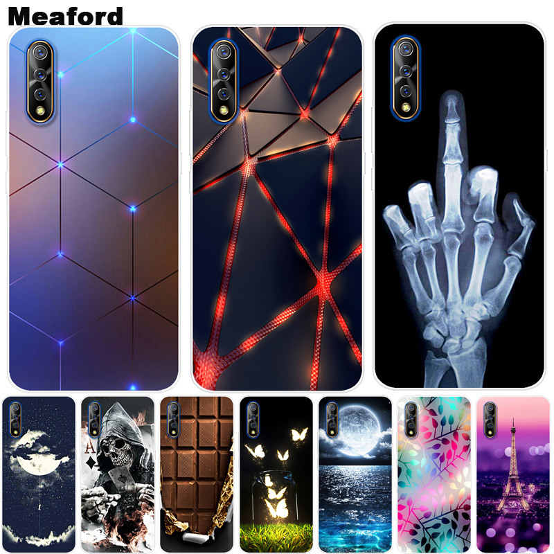 For <font><b>Vivo</b></font> <font><b>V17</b></font> Neo <font><b>Case</b></font> Phone Cover Soft Silicone Printing Back <font><b>Case</b></font> Coque for <font><b>Vivo</b></font> <font><b>V17</b></font> Neo <font><b>Pro</b></font> V17Neo Shockproof Cover V 17 Neo image
