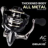 DEUKIO Fishing Reel Spinning 8KG Max Drag Metal Stainless Steel Handle Saltwater reel for fishing