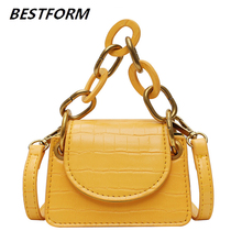Mini Bags For Women 2019 Chains Small Crossbody Leather Shoulder Womens Designer Handbags High Quality Flap Totes