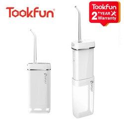 NEW TOOKFUN ENPULY Oral Irrigator Water Flosser Portable Dental Irrigator bucal Ultrasonic for Tooth Cleaner waterpulse tooth