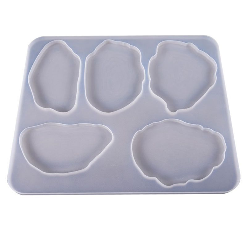 Большая декоративная форма для стола, набор неравномерных подставок, коврик для чашки, многофункциональный коврик для чашки, силиконовые ф...