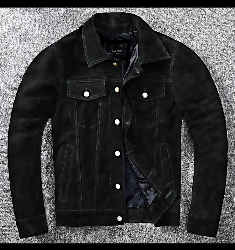 Free shipping.New arrival leather coat,fashion Mens genuine leather Jacket,classic casual slim Cowhide clothing.wholesales