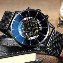 Relogio Masculino 2020 Business Minimalistische Horloges Mens Luxe Ultra Dunne Roestvrij Stalen Mesh Band Analoge Quartz Horloges(China)