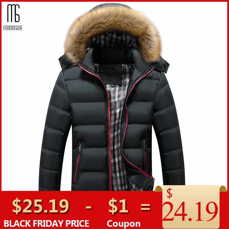 Manoswe Winter Fashion Warm Jackets Men's Thick Cotton Clothes Outwear Windbreaker Quality Jaqueta Men Coats Oversize S-7XL