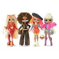 LOL Sorprese Originales LOLs OMG Bambole Cieco di Grandi Dimensioni Scatola di Regalo per la Ragazza Sorpresa per Lei Vestirsi Giocattoli Regalo Di Compleanno