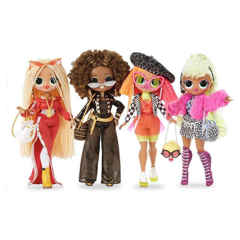 LOL Surprises Originales surdimensionnées LOLs OMG poupées boîte aveugle cadeau pour fille Surprise pour son habillage jouets cadeau d'anniversaire
