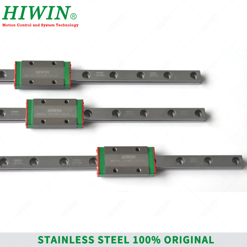 Image 5 - HIWIN  Stainless Steel  MGN9 150mm 250mm  350mm linear guide rail with MGN9H slide blocks Carriages  MGN9 Series  for 3D Printer-in Linear Guides from Home Improvement