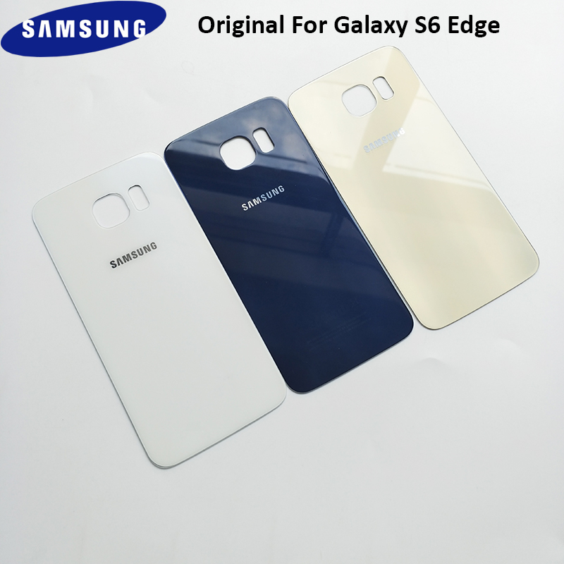 Samsung Door-Housing Case Replacement Back-Cover Glass Plus-Battery S6-Edge/s6-Edge Original title=