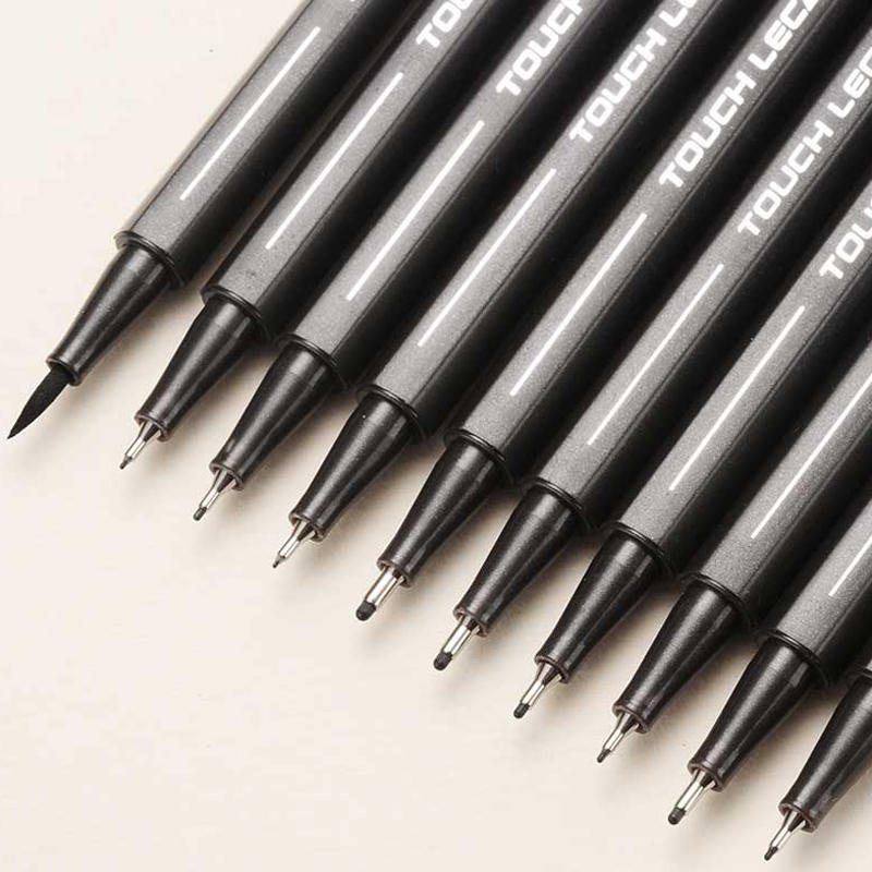 Ink-Marker-Pen Pigment-Liner Drawing-Pen Micron Manga Sketching Tip Set 10pcs/Set