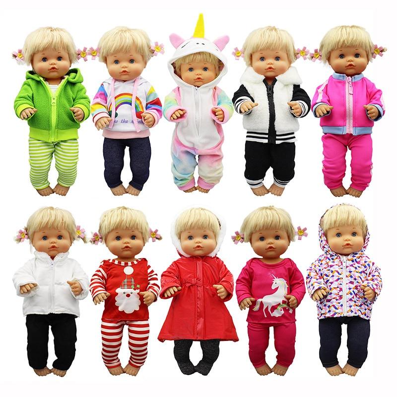 2020 New Wintert Suit doll Clothes Fit 42cm Nenuco Doll Nenuco su Hermanita Doll Accessories