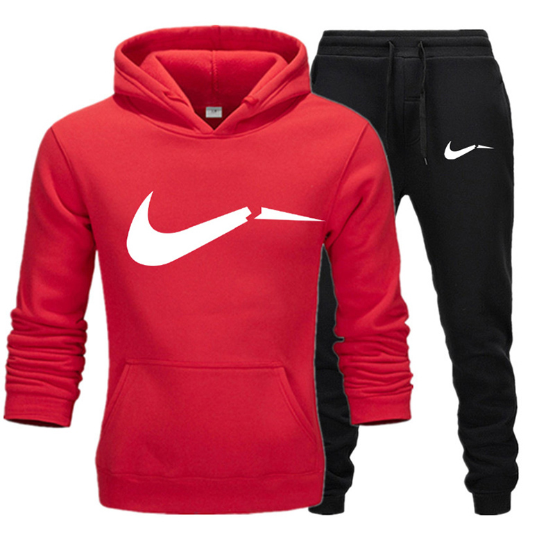 2019  Fashion Brand Hoodies Sweatshirt Men/Women Hoodie Tracksuit Sport Suit Sweatshirts+Sweatpants+T Shirts Sets Hooded 3XL