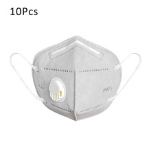 Anti Pollution KN95 Mask PM2.5 Mouth Mask Dust Respirator Washable Reusable Mask Cotton Unisex N95 Mask Mouth Muffle Dropship