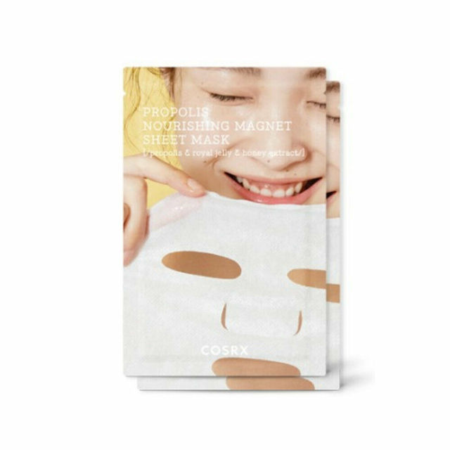 COSRX Full Fit Propolis Nourishing Magnet Sheet Mask 3ea  Moisturizing Skin care Korean Mask Face Whitening Depth Replenishment 5