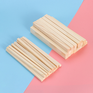 10pcs 150mm Pine Square Wooden Rods Sticks Premium Durable Wooden Dowel for DIY Crafts Building Model Woodworking New Arrival(China)