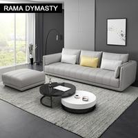 أريكة نسيج عالي الجودة حجم مخصص ولون أريكة لغرفة المعيشة طقم أريكة