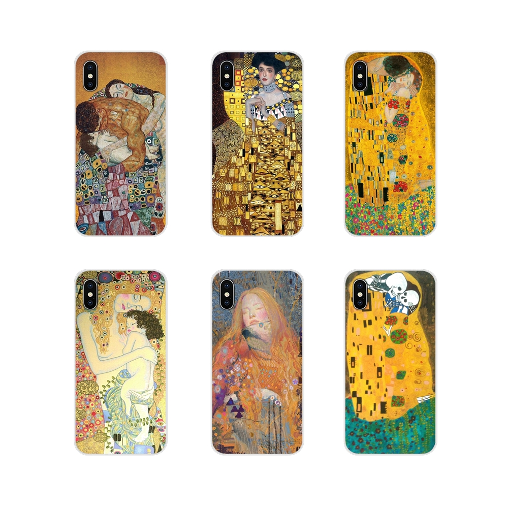 Mobile Phone Shell <font><b>Cases</b></font> For <font><b>Oneplus</b></font> 3T <font><b>5T</b></font> 6T Nokia 2 3 5 6 8 9 230 3310 2.1 3.1 5.1 7 Plus 2017 2018 Klimt Mother and Child art image