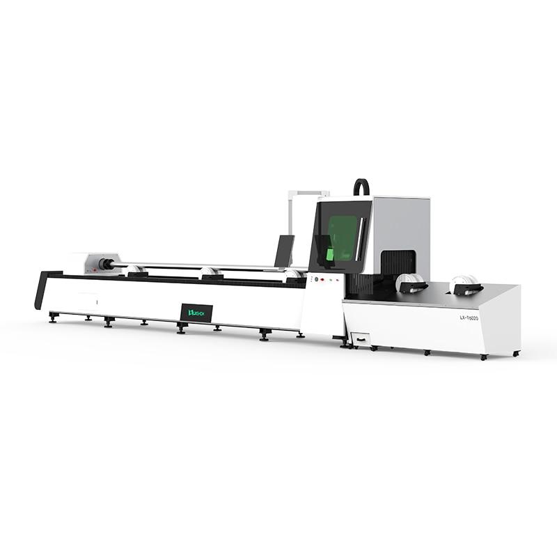 1kw Automatic Square Steel Tube Fiber Metal Laser Cutting Machine