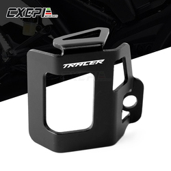 LOGO TRACER Motorcycle Rear Fluid Reservoir Guard Cover Protector For Yamaha TRACER900 700 GT 900GT TRACER MT09 MT07 MT 09 MT 07