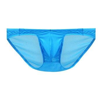 Sexy Men Briefs Underwear Men's Big Pouch Briefs Underpants male Panties Polyester Male Lingeries 13