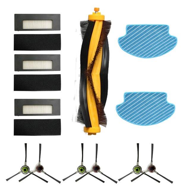 Hepa Filter Brush Kit For Ecovacs Deebot DE55 DE6G Vacuum Cleaner Replacement