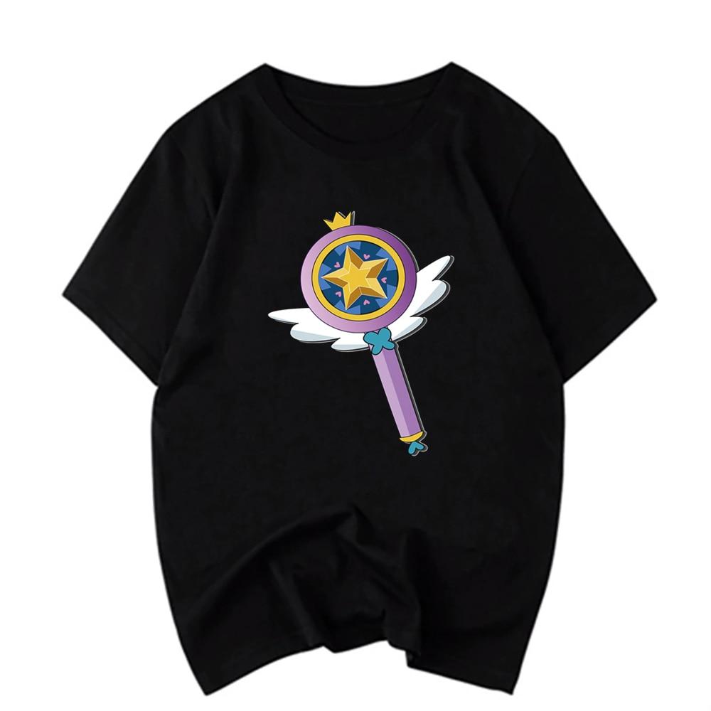 Men'S T-Shirt Unisex Short Sleeve Cardcaptor Sakura O-Neck Harajuku Tshirt Women Summer Casual Black T Shirt Man Streewear