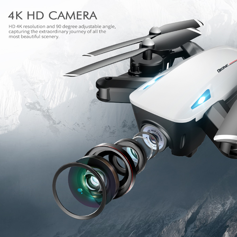 Z47 RC Drone With 4K 1080P HD Camera Optical Flow Positioning WIFI FPV Foldable Quadcopter Helicopter Follow Me vs SG106 Dron