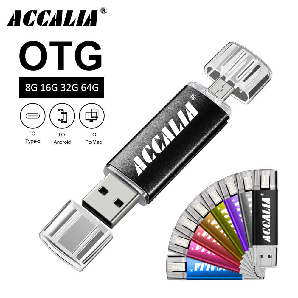 Metal OTG tip-c kalem sürücü 64GB flash USB bellek 4GB 8GB pendrive 16GB 32GB usb flash sürücü 128GB cle usb flash bellek c anahtar hediye