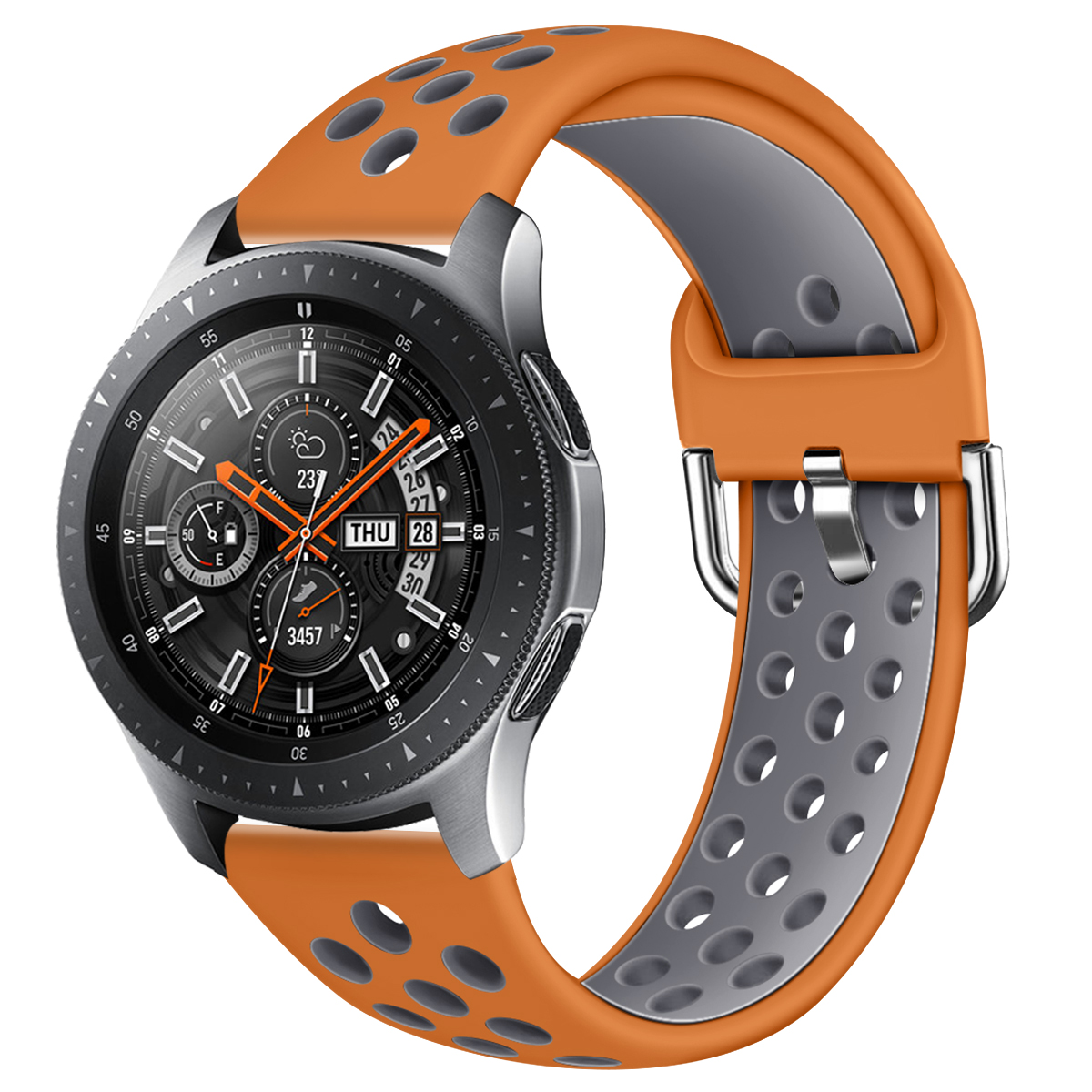 22mm Watchband For Samsung Galaxy Watch 46mm Replacement Bracelet Silicone Band Strap For SM-R800 Huawei GT 2  91002