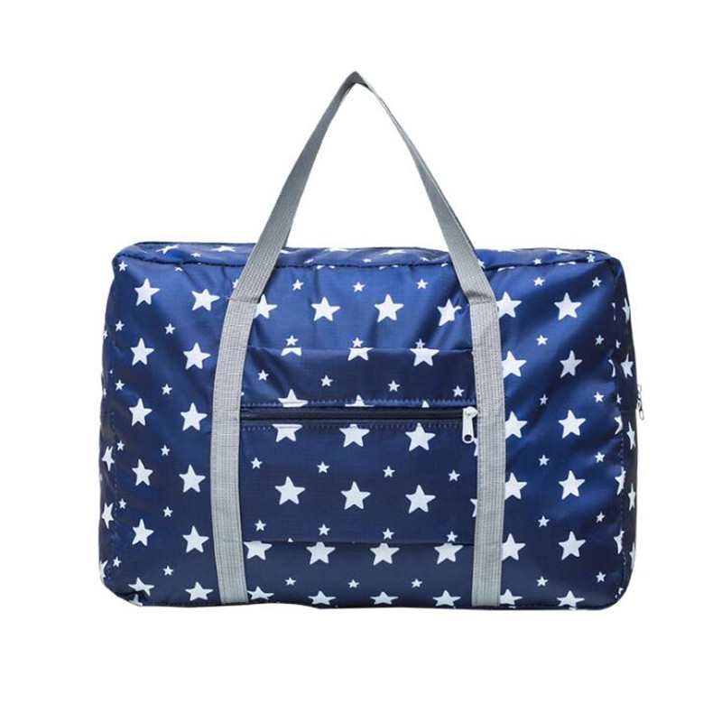 Travel-Bag Luggage-Bag-Organizer Clothing Weekend-Bag Printed Large-Capacity Women  title=