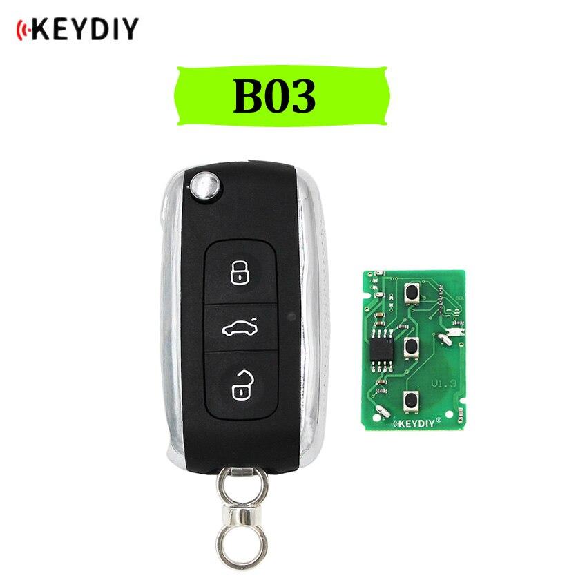 KEYDIY Universal 3 Buttons Remote Key B03 B Series For KD900 KD900+ URG200 Mini KD KD-X2 Key Programmer For Bentley Style