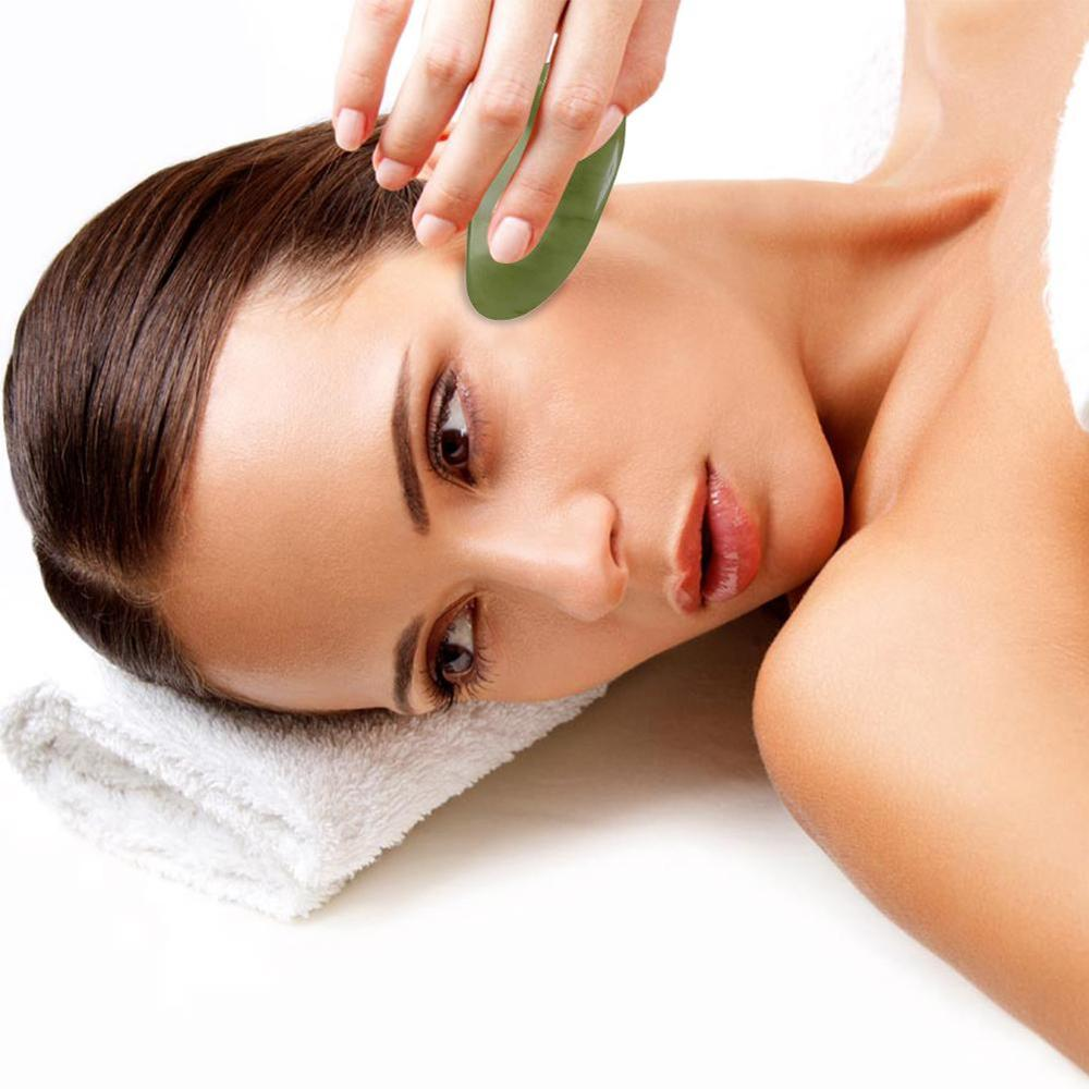 Natural Jade Facial Massage Face Scraper Face Massager Natural Jade Face Lifting Anti Wrinkle Slimming Beauty Health Care Tools