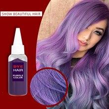 Super Hair Dye Silver Gray Woman Hair Color Cream Paint For Hair Bright Diy Coloring Hair Hairdressing Hair Dying Unisex 35ml