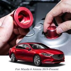 Car Styling przykręcana pokrywa dla Mazda 6 Atenza 2019-obecny amortyzator samochodowy przykręcana pokrywa pyłoszczelna i nierdzewna wewnętrzna akcesoria