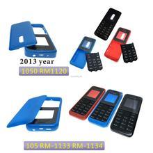 Nuevo alta calidad carcasa para Nokia 105 de 1050 RM1120 Rm908 Año 2013 versión RM1133 RM-1133 RM1134 funda de teléfono móvil teclado
