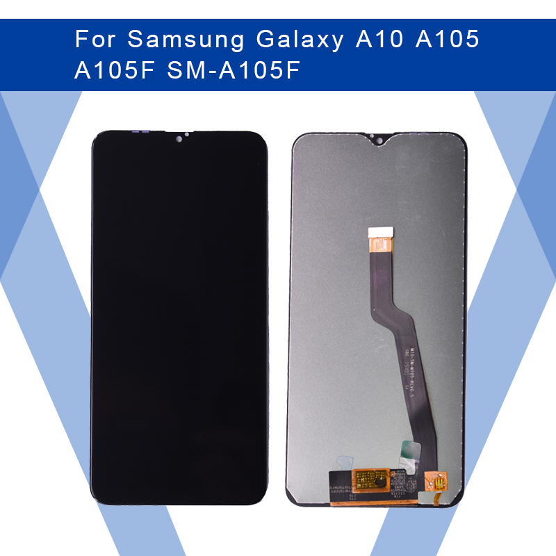 For SAMSUNG Galaxy A10 A105 A105F LCD AMOLED screen Display Screen+Touch Panel Digitizer Assembly For SAMSUNG Display Original image